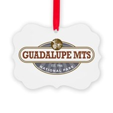 Guadalupe Mountains National Park Ornament