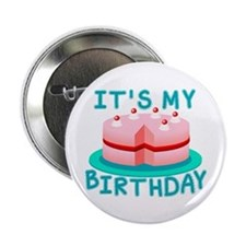 Its My Birthday Cake 2.25&Quot; Button
