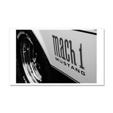 American Muscle Car Magnet 20 x 12