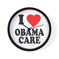 I Love Obamacare Wall Clock