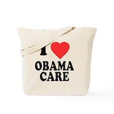 I Love Obamacare Tote Bag