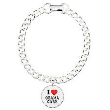 I Love Obamacare Charm Bracelet, One Charm