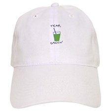 Team Green Baseball Baseball Cap