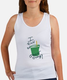 I run on Green Energy Tank Top