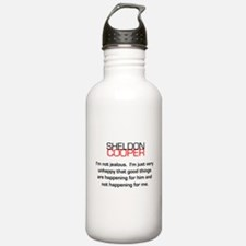 Sheldon Cooper's Jealousy Quote Water Bottle