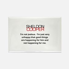 Sheldon Cooper's Jealousy Quote Rectangle Magnet