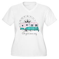 Unique Vintage trailer T-Shirt