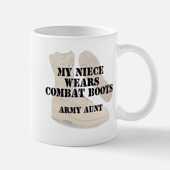 Army Aunt Niece wears DCB Mugs