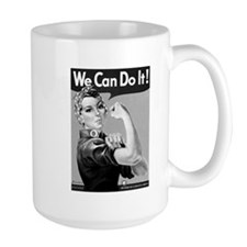 Rosie the Riveter Mugs