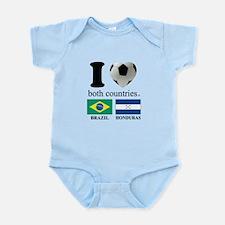 BRAZIL-HONDURAS Infant Bodysuit