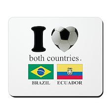 BRAZIL-ECUADOR Mousepad