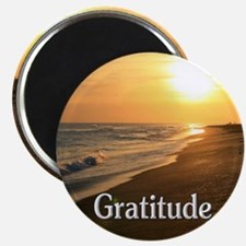 Gratitude for a Beautiful Life Magnet