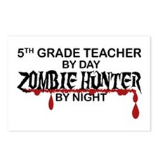 Zombie Hunter - 5th Grade Postcards (Package of 8)
