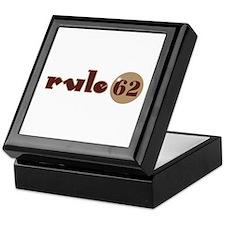 Rule 62 AA Slogan Keepsake Box