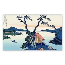 Lake Suwa by Hokusai Decal