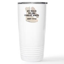 Army Uncle Niece wears DCB Travel Mug