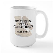 Army Uncle Nephew wears DCB Mugs