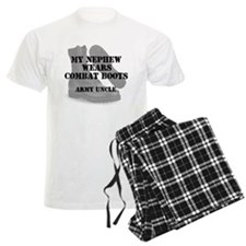 Army Uncle Nephew wears CB Pajamas