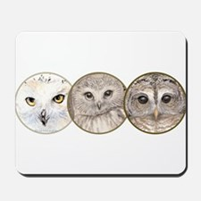 just owls Mousepad