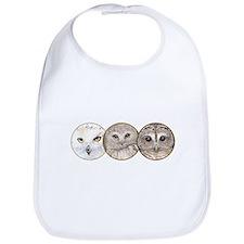 just owls Bib