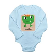 Baby Monster Personalisable Body Suit