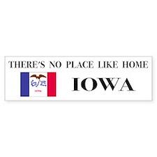 Iowa Bumper Car Sticker
