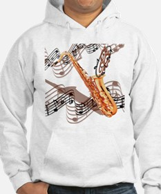 Abstract Saxophone Hoodie