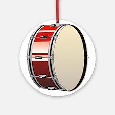 Bass Drum Ornament (Round)
