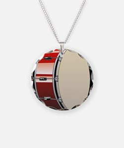 Bass Drum Necklace