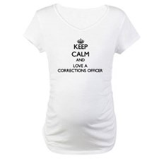Keep Calm and Love a Corrections Officer Shirt