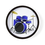Drum Wall Clocks