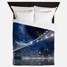 New!! New York City Queen Duvet