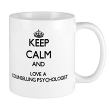 Keep Calm and Love a Counselling Psychologist Mugs