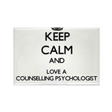 Keep Calm and Love a Counselling Psychologist Magn