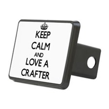 Keep Calm and Love a Crafter Hitch Cover