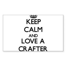 Keep Calm and Love a Crafter Decal