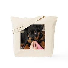 Rottweiller Puppy Tote Bag