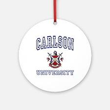 CARLSON University Ornament (Round)