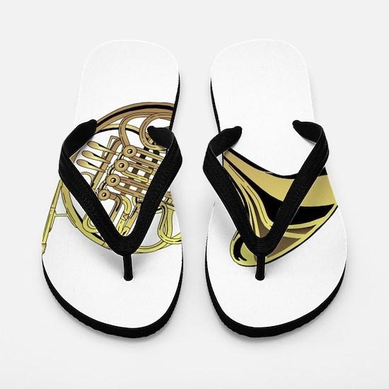 French Horn Flip Flops