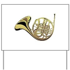 French Horn Yard Sign