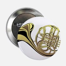 "French Horn 2.25"" Button"