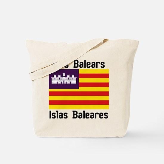 Balearic Islands F+B Tote Bag