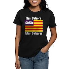 Balearic Islands Dark F+B T-Shirt