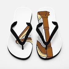 Musical Harp Flip Flops