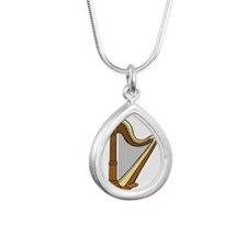 Musical Harp Necklaces