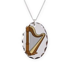 Musical Harp Necklace