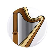 "Musical Harp 3.5"" Button"