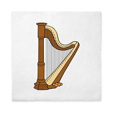 Musical Harp Queen Duvet