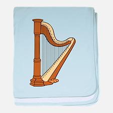 Musical Harp baby blanket