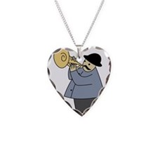 Trumpet Player Necklace